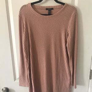 Forever 21 Pink Sweater Dress
